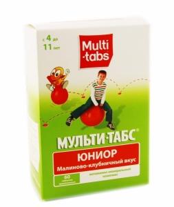 Multi-tabs / Мульти-табс Юниор витамины